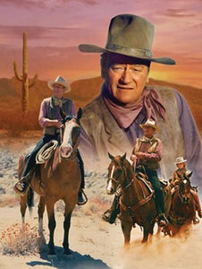 "diamond paintings - 1 only local stock ""John Wayne"" Full square"