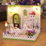 DIY Wooden House Miniatures with Furniture  - Cake Shop- 27 Options