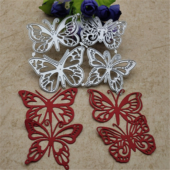 Metal Cutting Dies for DIY Scrapbooking/ Card making 4PCS/lot Butterfly Dies