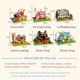 DIY  Wooden Doll Houses Miniature & Furniture Kit specialty