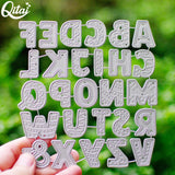 Metal Cutting Dies for DIY Scrapbooking/ Card making - Uppercase Letters