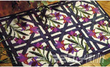 "Latch hook DIY rug kit ""Floral pattern"" approx 85x60cm"