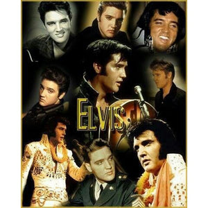 "5D DIY Diamond painting Full Round or Square  ""Elvis Photos"" - Scrap n Patch"