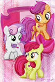 "5D DIY Diamond embroidery Kits -Full Square / Round Drill ""My Little Pony set"""