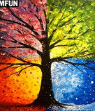 "5D DIY Diamond embroidery Painting Kits -Full Round/square Drill ""Trees"""