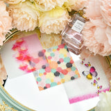12pcs Lovely Background Pattern Vellum Paper Stickers for Scrapbooking Journaling Projects