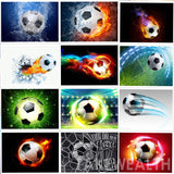 "5D DIY Diamond embroidery Painting Kits -Full Square / Round Drill ""Soccer - Football set 2'"
