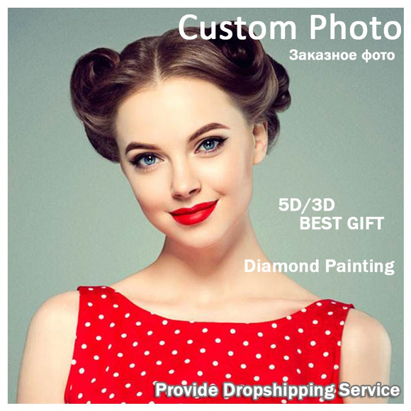 5D DIY Diamond Painting Kits -Full Square / Round Drill