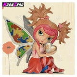 "5D diamond mosaic embroidery full Square/Round ""Big eyed Girls"""