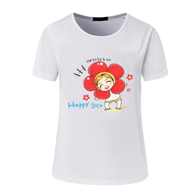 2018 new women's BTS summer T-shirt - Wear 4 Life