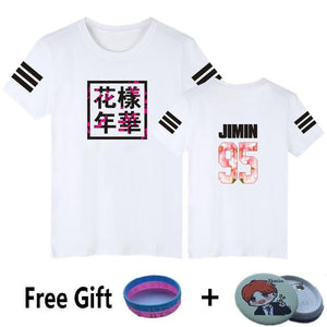 BTS Kpop Short Sleeve T Shirts - Wear 4 Life