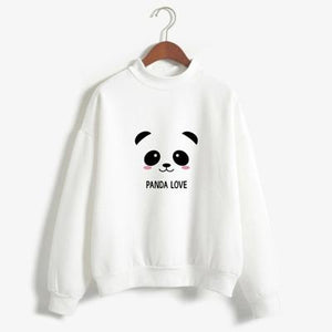 Kawaii Harajuku Shy Panda Sweatshirt - Best KPOP Fashion Hoodie