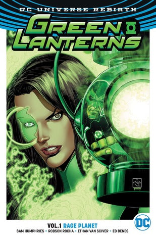 Green Lanterns Rebirth Vol 1