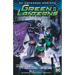 Green Lanterns Rebirth Vol 3