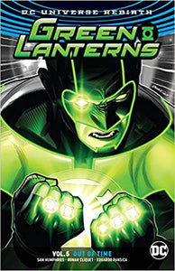 Green Lanterns rebirth vol 5