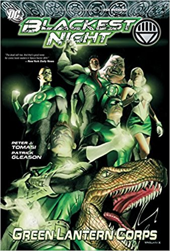 Blackest Night Green Lantern Corps