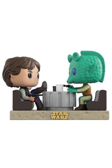 Star Wars POP! Movie Moments Vinyl Bobble-Head 2-Pack Cantina Faceoff 9 cm Mini-figures Star Wars