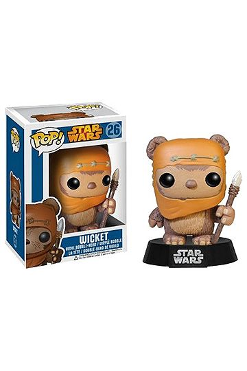 Star Wars POP! Vinyl Bobble-Head Wicket 10 cm