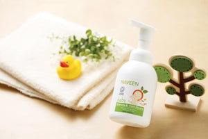 Baby Shampoo and Wash Mousse 400ml