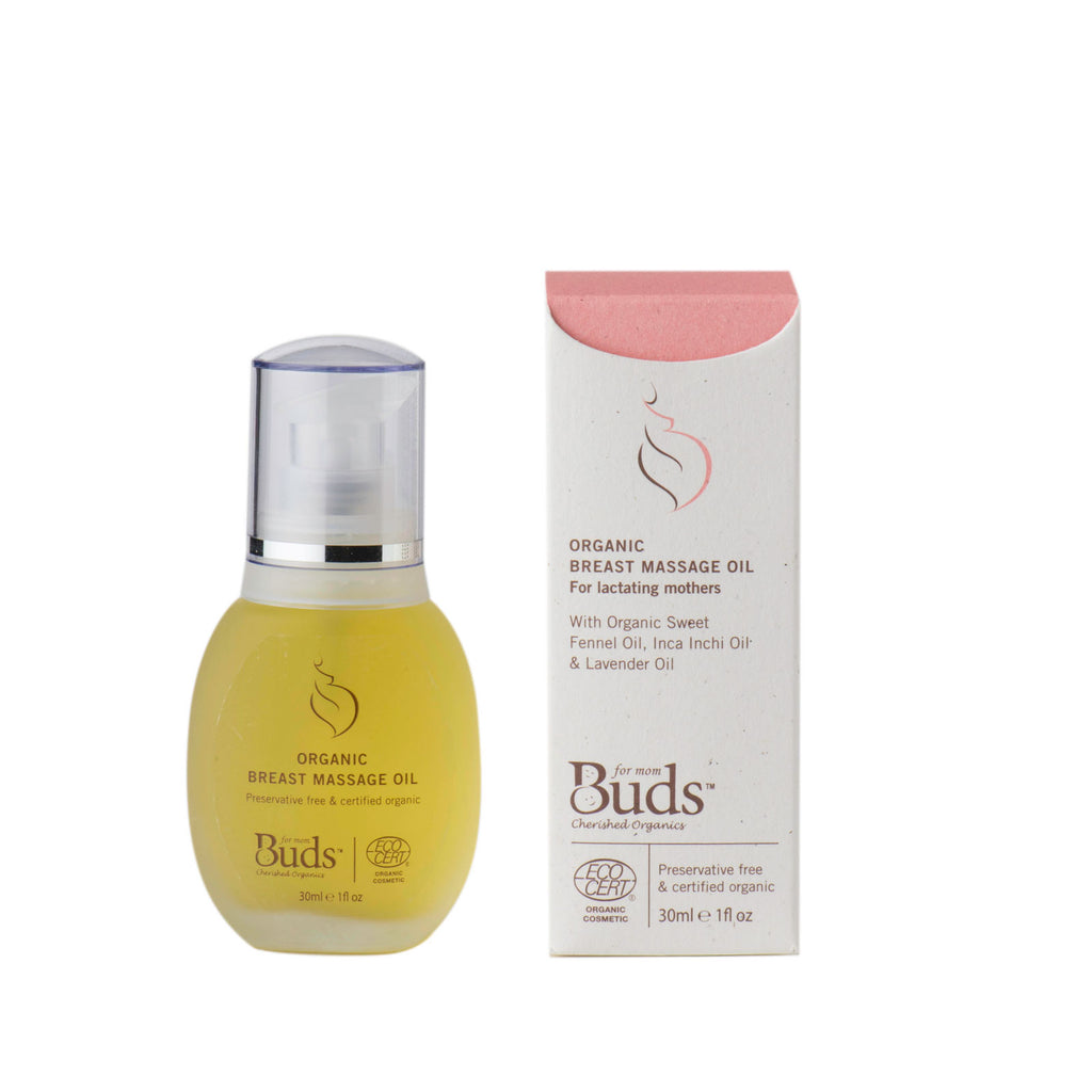Organic Breast Massage Oil 30 ml