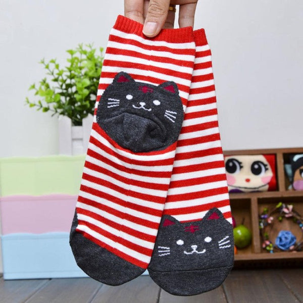 3D Animal Striped Cartoon Socks