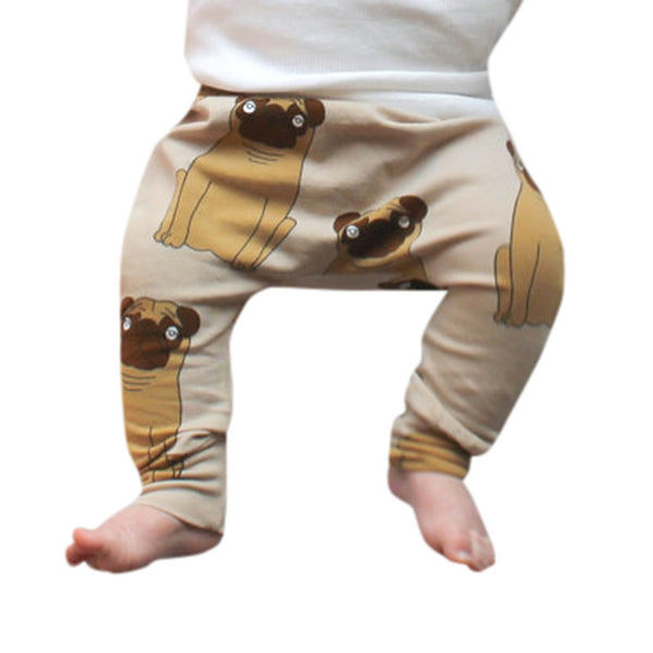 Cute Pug Unisex Long Pants