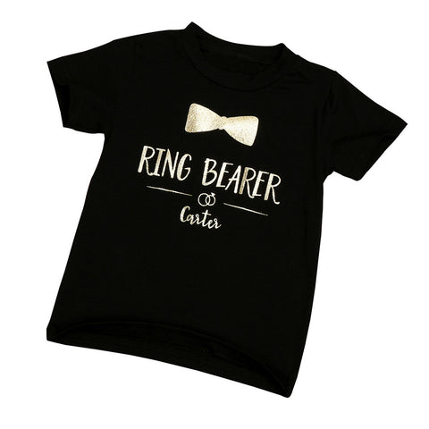 """Ring Bearer"" Toddler Unisex T-Shirt"