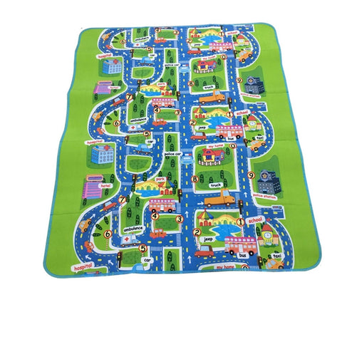 Damp-Proof Carpet City Portable Crawling Floor Rug/Blanket