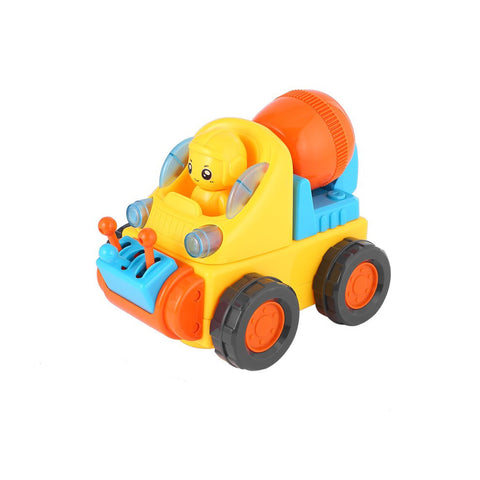 Cool Cartoon Vehicle Mixer Truck Car Toy