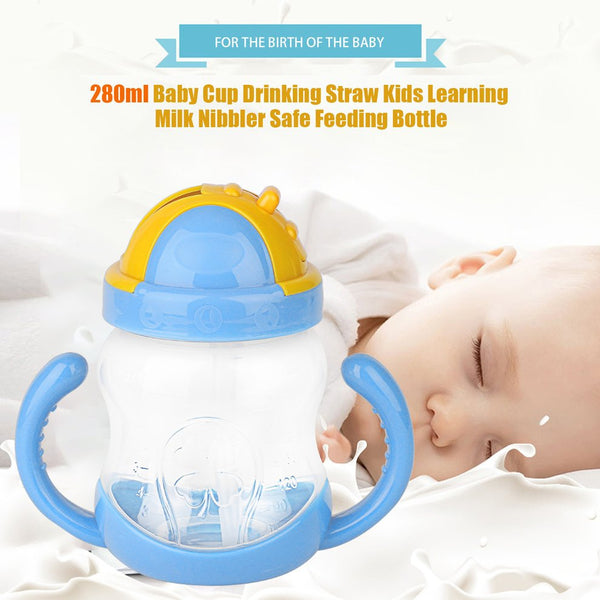 280ml Safe Feeding Bottle with Handle
