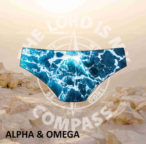 Alpha And Omega The Lord is my Compass  Bikini Bottom