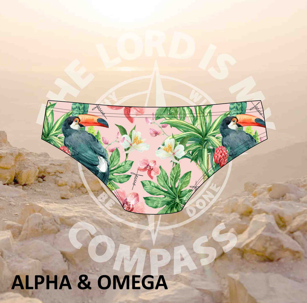 Alpha And Omega Garden of Eden  Bikini Bottom