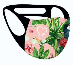 ALPHA & OMEGA Ultimate Comfort Reusable Face Mask Garden of Enden