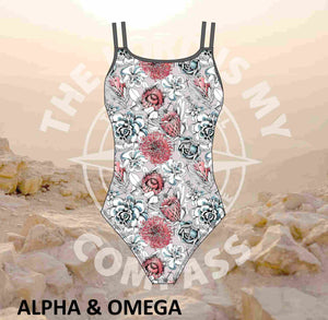 Alpha And Omega Succulent Floral Full Costume