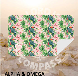 Alpha And Omega Garden of Eden Microfiber Towel