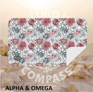 Alpha And Omega Succulent Microfiber Towel