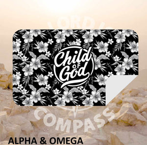 Alpha And Omega Child of God  Microfiber Towel