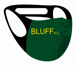 Ultimate comfort reusable face mask Bluff A.C Print