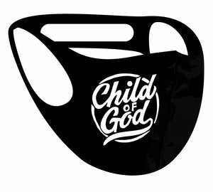 Ultimate Comfort Reusable Face Mask Child of God print