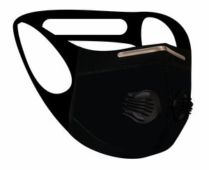 Ultimate Comfort Sports Mask Black