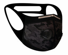 Ultimate Comfort Sports Mask Grey Camo