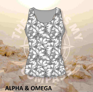 Alpha & Omega Faith over Fear Run Vest