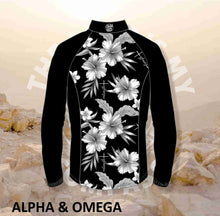 Alpha And Omega Child of God Hibiscus Print Trail Jacket
