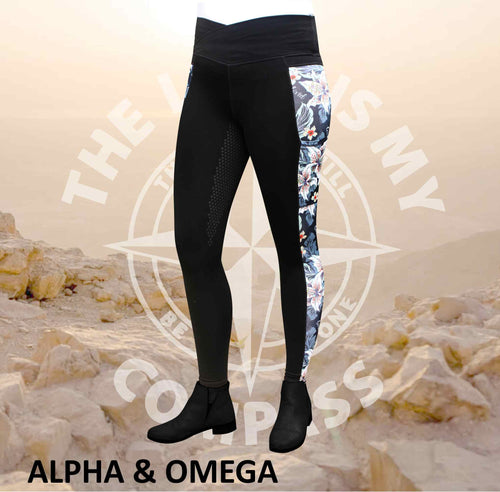 A&O Believe Lily Love Equestrian Tights