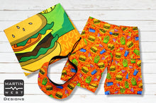 Special Male Junk Food run/paddle/swim set