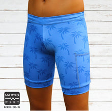 Female Palm Trees  run/paddle shorts