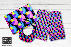 Special Male Toucan run/paddle/swim set