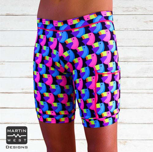 Female Toucan Swim/run/paddle shorts
