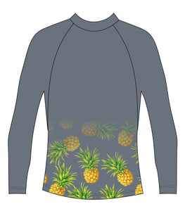 Grey Pineapple Rash Vest
