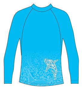 Tattoo Shark Rash Vest